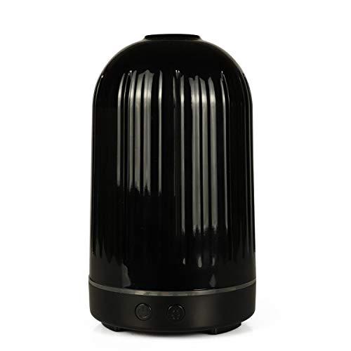 SUNSHINE HOME&3 Difusor de Aceite Esencial para aromaterapia, difusores de Aroma ultrasónicos humidificadores de Vapor frío de 100 ml con Apagado automático sin Agua,Black