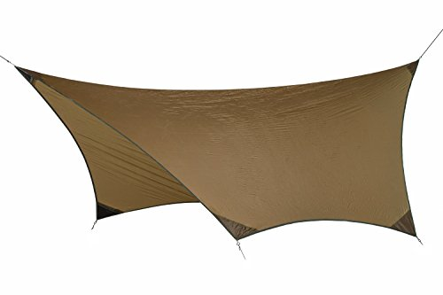 Amazonas Adventure Tarp Unisexe Adulte, Marron, 340 x 280 cm