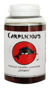 """Seven Oaks Carplicious """"Umami"""" 250 ml - Lockmittel für Karpfen und andere Cypriniden, Gewürzfermente vereint mit Einer Aminosäue-Kompositur"""