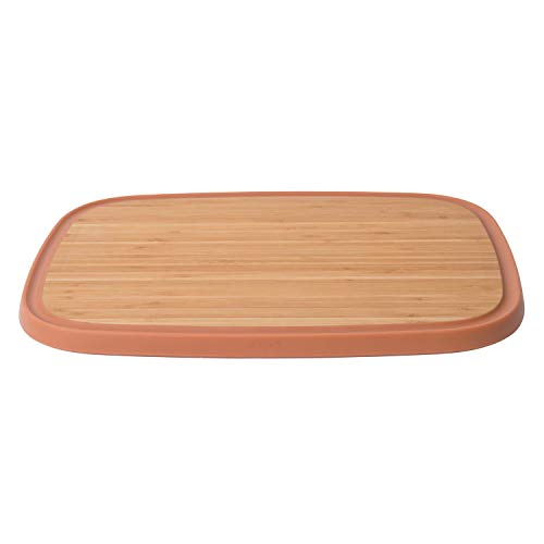 Berghoff 3950085 Planche à découper, Bambou, Marron, 37 x 27 x 1,5 cm