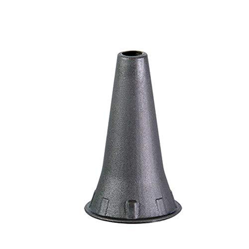 Luxamed Einweg Ohrtrichter Einmal Ohrtrichter Otoskop Aufsatz, grau, 4,0mm 1000 St lose