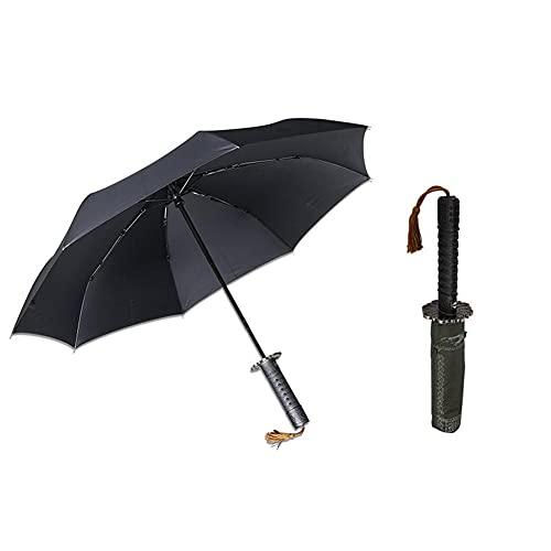 UKKD Regenschirm Falten Windbeständiger Regenschirm Männer Automatische Starke Winddichte Regenschirm Große Konzerne Sonnenschirme Frau-1