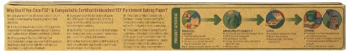 IF YOU CARE 100% Unbleached Silicone Parchment Paper, 70-Foot Roll (Pack of 4)