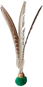GoCat Kitty Kopter Cat Toy Throw Toy with Feathers That Spins in The Air