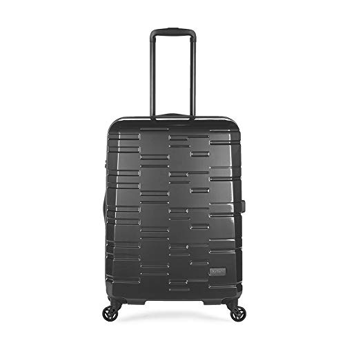 Antler Prism, Durable & Ultra Lightweight Hard Shell Suitcase - Colour: Charcoal, Size: Medium