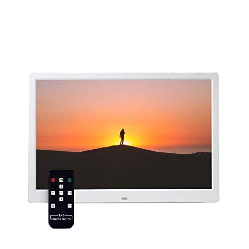 SHU XIN 15 inch Remote Control Digital Photo Frame HD Video Advertising Player 1920 1080 HD Display Screen Video Player Large Digital Photo Frame
