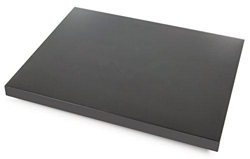Pro-Ject Ground it E, Stabile und höhenverstellbare Gerätebasis für Plattenspieler, Hochglanz Schwarz