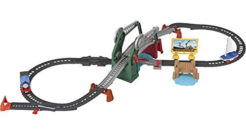 Fisher-Price- Bridge Lift Thomas & Skiff (Mattel GWX09)
