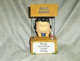 Hallmark Peanuts PAJ3503 Lucy At Her Booth Figurine
