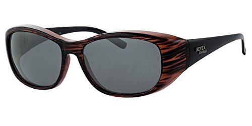 REVEX polarisierte Überbrille Sonnenbrille für Brillenträger CAT 3 Modell 3
