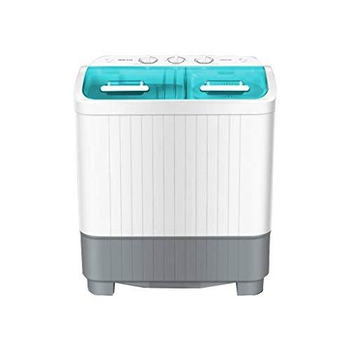 Hyl Lavadoras de Ropa duplicar la Capacidad de los hogares Barril semiautomática Grande con deshidratador seco, pequeña Mini apartamento Interior 590 * 360 * 690mm