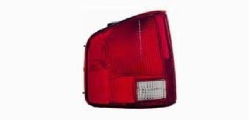 DEPO AUTO PARTS Driver Left Tail Light for 02 03 04 CHEVROLET S10/S15 GMC SONOMA 2nd Design