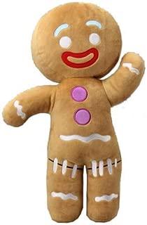hhh INC 2017 Big Size 50CM Shrek Gingerbread Man Bigheadz Stuffed Plush Toys Cartoon Soft Doll Kids Gift