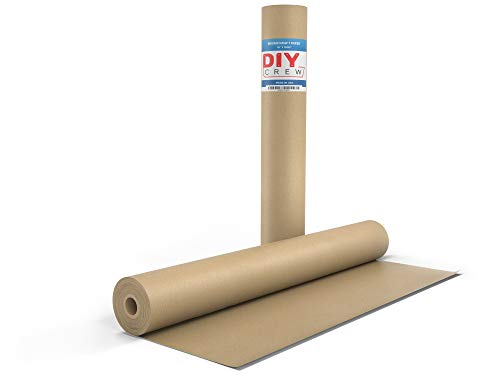 Kraft Paper Roll 18'' X 1800'' (150ft) Brown Mega Roll - Made in Usa 100% Natural Recycled Material - Perfect for Packing, Wrapping, Craft, Postal, Shipping, Dunnage and Parcel