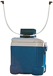 Portable Misting System - 3 Gallon Portable Misting Tank - with 300 PSI Misting Pump (4 Nozzles 20 Ft Tubing)