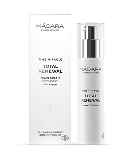 MÁDARA   Time Miracle Total Renewal Nachtcreme, 50 ml