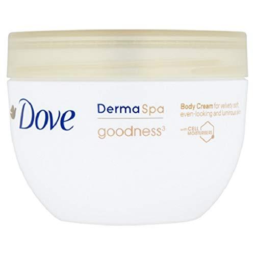 Dove Body Cream Derma Spa Goodness - 2er Pack (2 x 300ml)