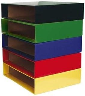 Caja Archivador De Palanca Carton Din A4 Rojo: Amazon.es: Oficina ...