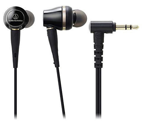 Audio-Technica ATH-CKR100iS Sound Reality In-Ear High-Resolution Headphones with In-Line Mic & Control