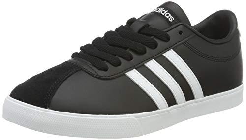 adidas Damen Courtset W Turnschuhe, Nero (Negbas/Ftwbla/Plamat), 39 1/3 EU