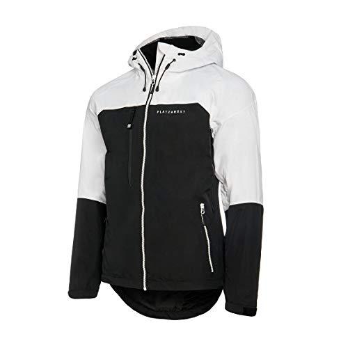 platzangst Alopex Jacke - Weiß/Schwarz Größe M