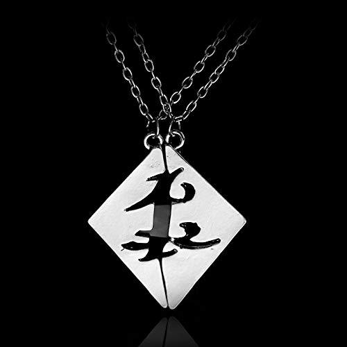 N/B Molto The Mortal Instruments Halskette City of Bones Vintage Angelic Power Runes Shadowhunters