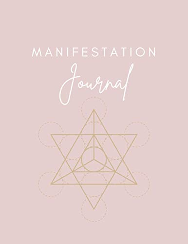 The Manifestation Journal - Law Of Attraction Journal, a Bullet Planner and Guided Journal in One - Vision Board Book/Visualization And Positive Affirmations Journal/