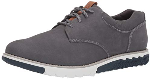 Hush Puppies mens Expert Pt Lace Up Oxford Sneaker, Grey, 11.5 Wide US