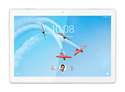 "Lenovo Tab M10 Tablette, Écran 10,1"" HD, Processeur Qualcomm Snapdragon 429, 32 GB Extensible jusqu'à 128 GB, RAM 2 GB, Wi-Fi, Android Oreo, Polar White"