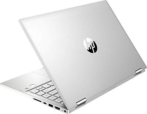 HP Pavilion x360 14-dw0002na 14' Touch Laptop, i3-1005G1 8GB 128GB W10, 16Y36EA (Renewed)