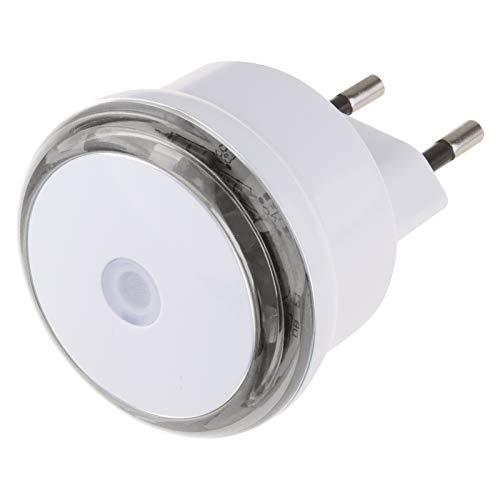 EMOS P3306 nachtlampje, stopcontact met schemeringssensor, oriëntatielicht voor kinderkamer, trap, slaapkamer, keuken, hal