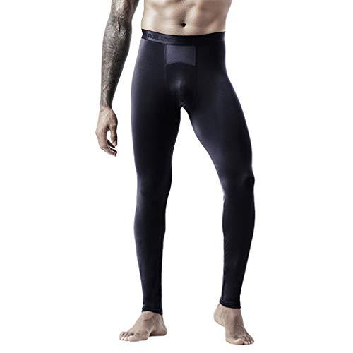 Zarupeng heren sexy thermo-ondergoed stretch dunne leggings sport yogabroek loopbroek trainingsbroek slim lange broek onderbroek