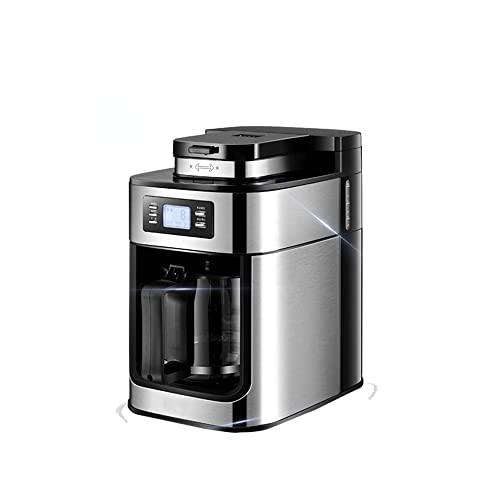 Ekspres do kawy jednorazowy Kawa mielona z karafką termiczną, ekspres do kawy rozpuszczalnej w kroplach termicznych szybkie nagrzewanie automatyczny ekspres do kawy cappuccino do cappuccino/latte