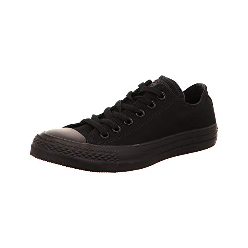 Converse Chuck Taylor all Star Low Black Canvas Trainers-UK 10.5