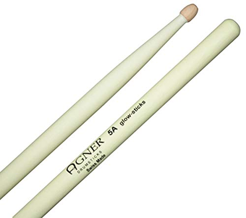 Agner Drumsticks 5A UV Glow Sticks Leuchtend