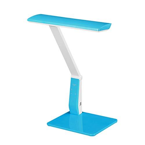 Lámpara Escritorio LED lámpara de escritorio, el cuidado de los ojos-lámparas de mesa, lámpara regulable Oficina Con puerto de carga USB, los alumnos estudian dormitorio de noche LED de lectura lámpar