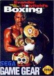 Evander Real Deal Holyfield's Boxing (Sega Game Gear) by Sega