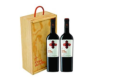 Cruz de Alba - Vino Tinto Crianza - Estuche 2 botellas