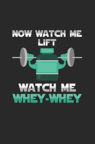 Now watch me lift: 6x9 High Protein Low Carb   grid   squared paper   notebook   notes