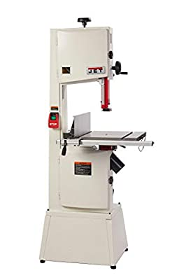 """Jet 714400K Jwbs-14SFX, 14"""", Steel Frame Bandsaw, White by JET Tools"""