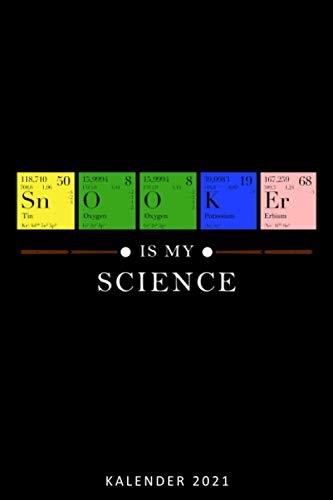 Kalender 2021 Snooker is my Science: Terminkalender Snookerspieler als lustiges Geschenk für Snooker Fan Jahreskalender 2021 A5 1 Woche 2 Seiten / 6x9 ... Snooker Fan Beruf Studium Schule und Familie