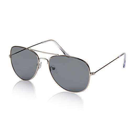Sunnypro Chic Mans Womans Aviators Sunglasses Gold Frame Eyeglasses Shades Grey