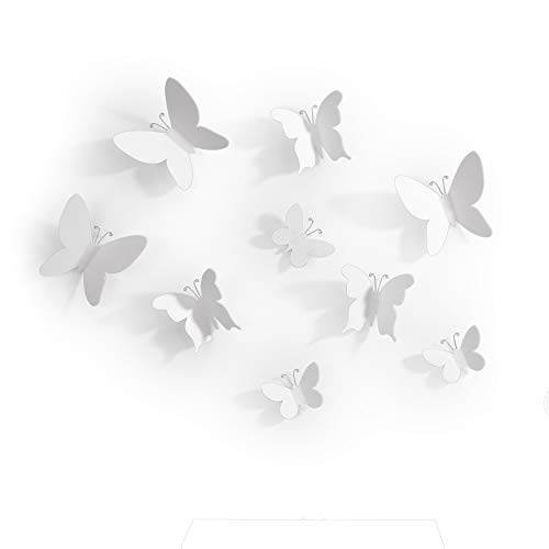 umbra ウォールデコレーションパピヨン蝶々9個セット MARIPOSA 2470130660