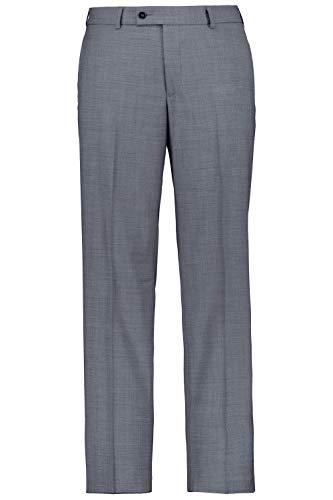 JP 1880 Herren große Größen Herren große Größen bis 72, Anzug Hose Pan, Businesshose FREENAMIK®, Schurwoll-Premium-Qualität, knitterfrei, elastisch grau 64 702889 12-64