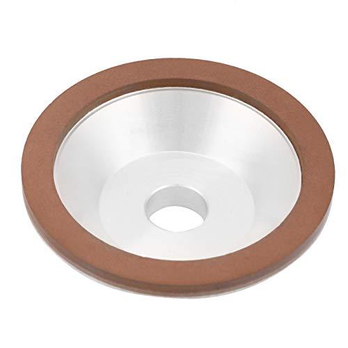 Rueda de copa Rueda de copa de molienda de aleación de aluminio Rueda de copa de molienda de aleación de aluminio Molienda de diamante de grano de la rueda de copa 180 Eficiente para