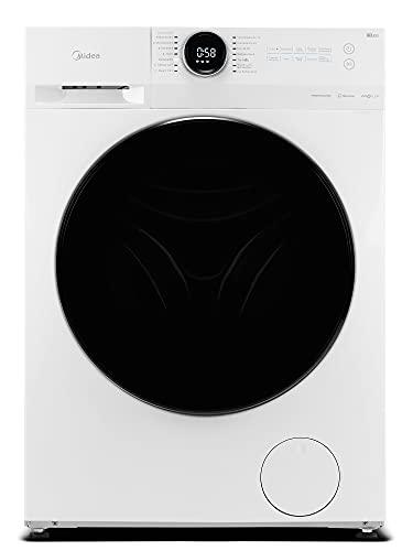 Midea MF200W80B-142 Waschmaschine / 8 kg Fassungsvermögen / Energieeffizienzklasse B / Nachlegefunktion / Steam Care / 1400 U/min / Turbo Wash