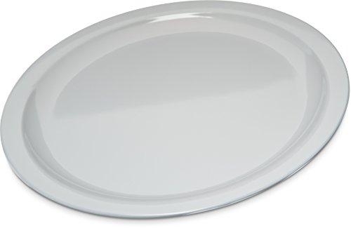 Carlisle KL11602 Kingline Melamine Dinner Plate, 10' Diameter x 0.76' Height, White (Case of 48)