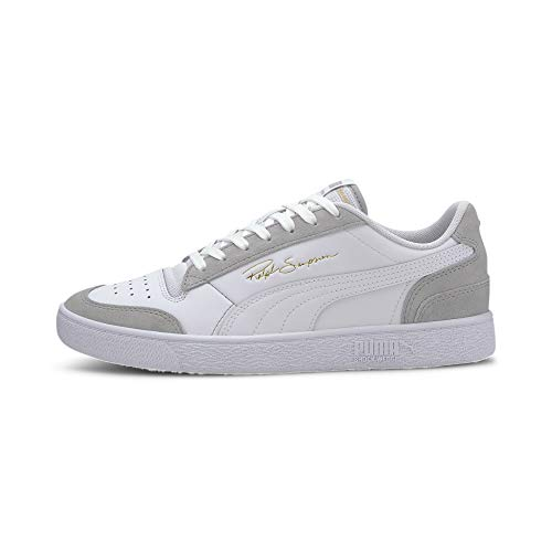 PUMA Ralph Sampson Lo Vintage Sneaker Puma Wht-High Rise-Puma Wht UK 6_Adults_FR 39