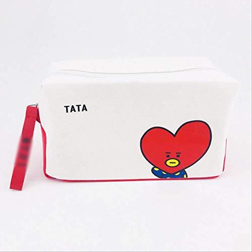 AMBZ KosmetiktascheTaschen Kosmetiktasche Student Briefpapier Kits Pencilcase Pencilbag Box Tata