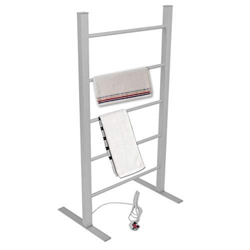 Secador Toallas electrico portatil, radiador Vertical 100W toalleros electricos bajo Consumo Acero...